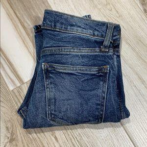 GAP 1969 Vintage High Rise Slim Straight Jeans